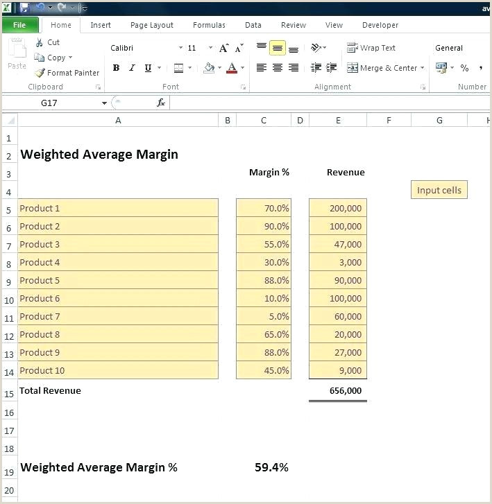 Markup formula In Excel Profit Calculator Excel Template