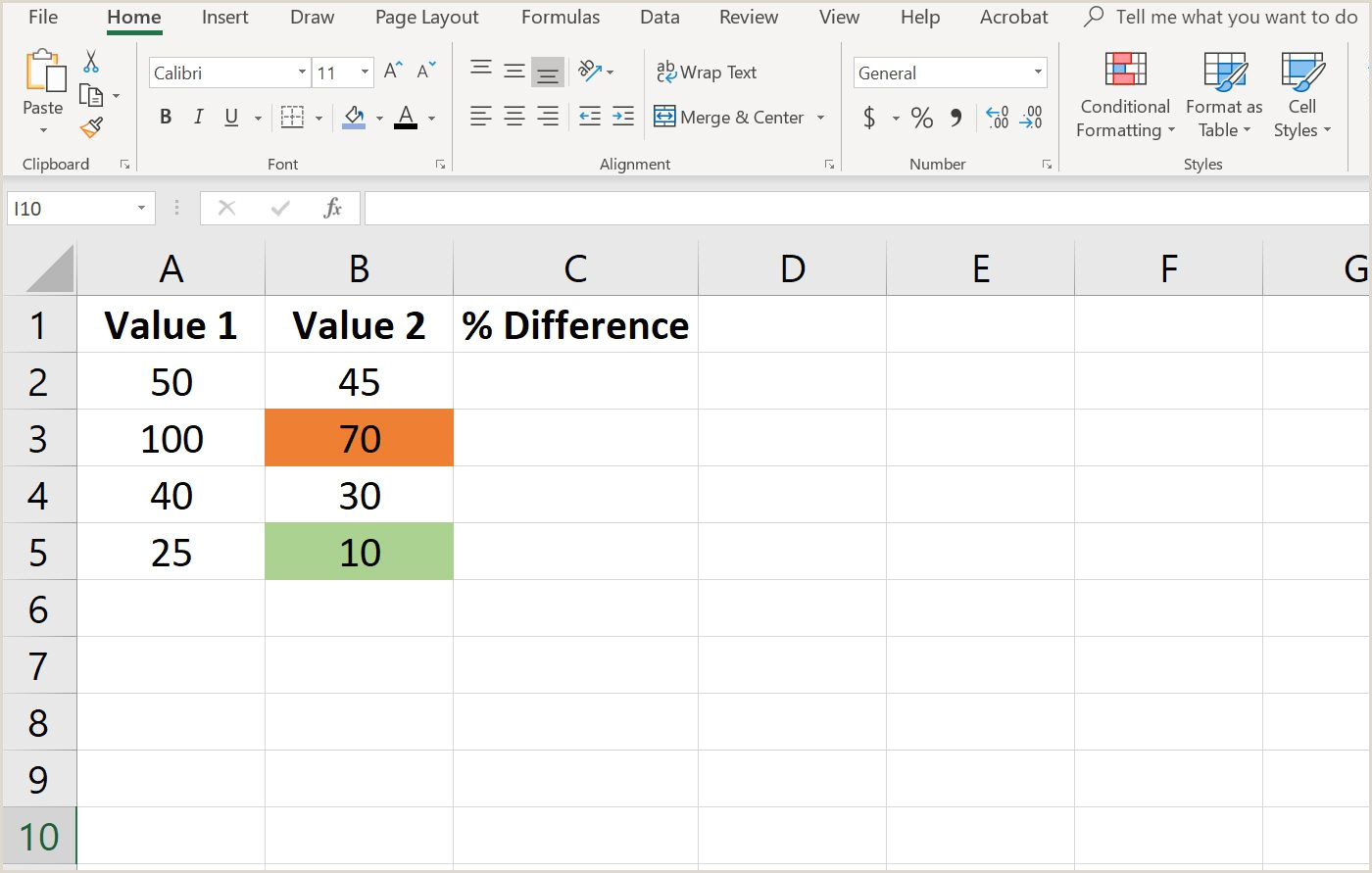 Markup formula In Excel Using formulas for Conditional formatting In Excel