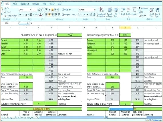 Markup formula In Excel Weight Loss Percentage Excel Calculator Template