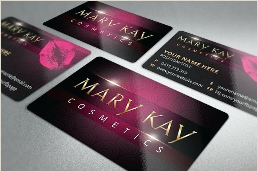 Mary Kay Business Cards Templates Free Card Template Gold