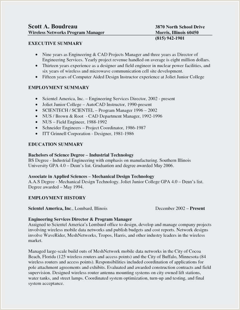 Mechanical Drafter Resume Lovely Autocad Drafter Resume