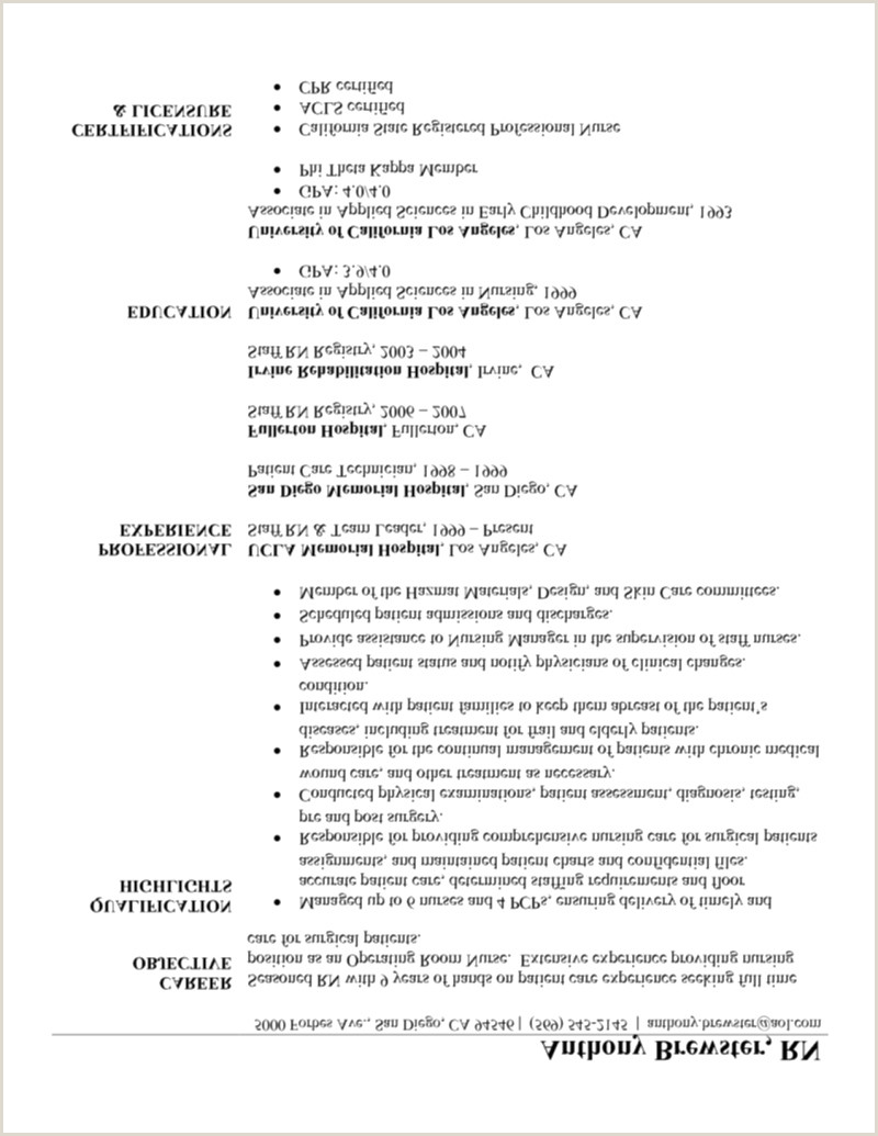 Med Surg Rn Resume Examples Med Surg Nurse Resume Sample Awesome New Grad Rn Resume