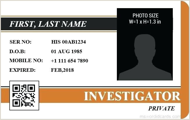 Media Pass Template Word Press Id Card Template