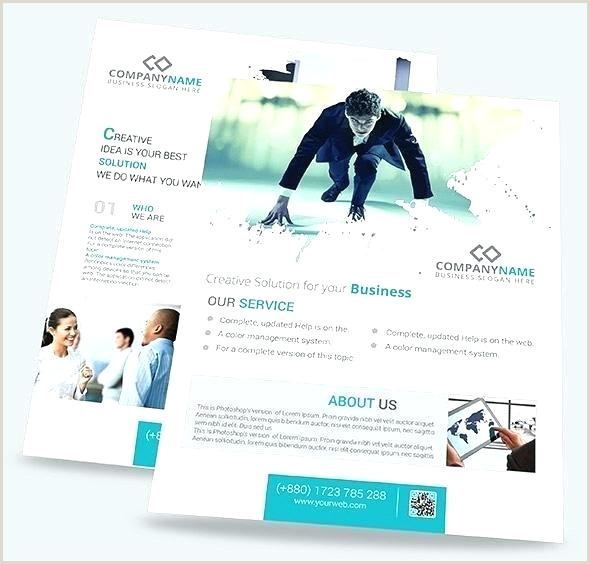 Medical Flyer Template Free Pany Brochure Template Free Creative Corporate Business