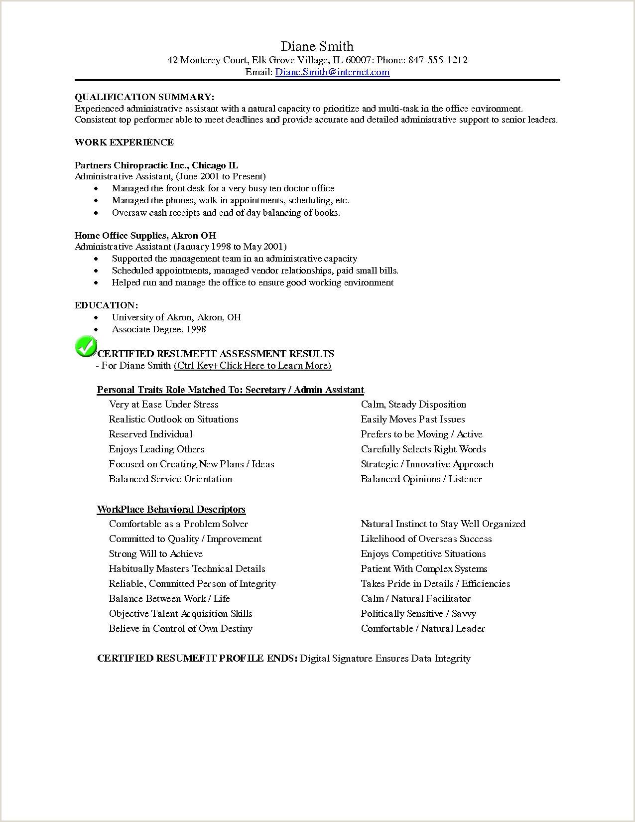fice assistant Resume Templates – Salumguilher