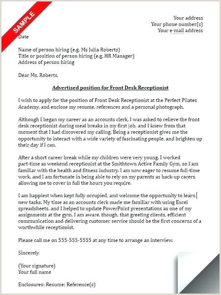Medical Receptionist Cover Letter Australia Example Cover Letter for Receptionist – Growthnotes
