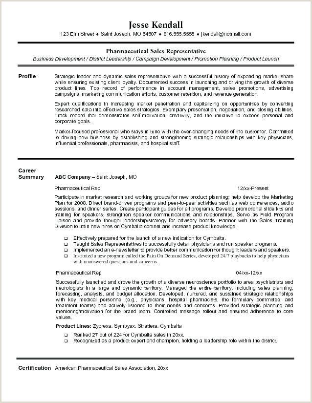 Medical Representative Resume Resume Pharmaceutical Sales Pharmaceutical Sales Rep
