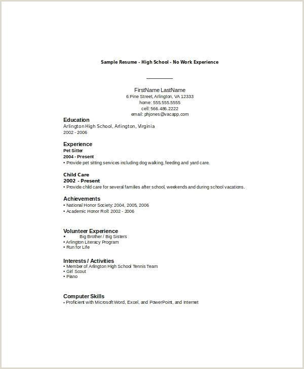 Medical Student Resume Samples Resume Sample High School Student New Resume Samples No