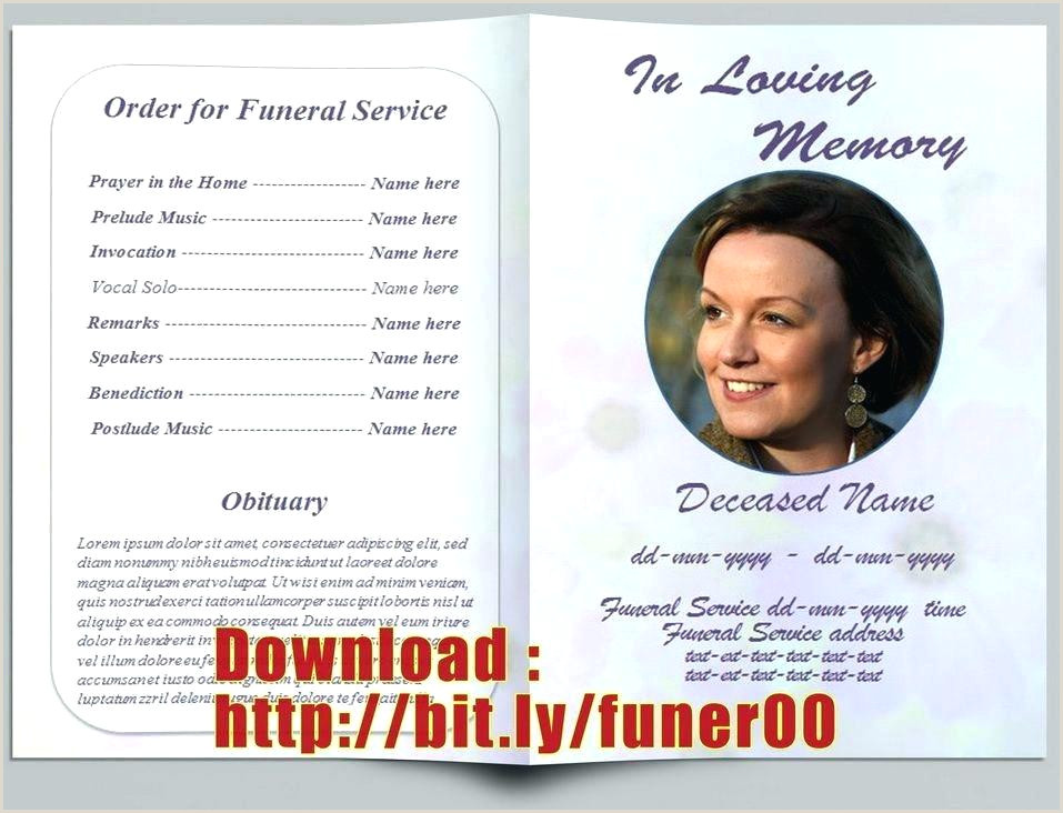 Memorial Card Template Microsoft Word Funeral Card Templates Microsoft Word Free – Behindtheskirt