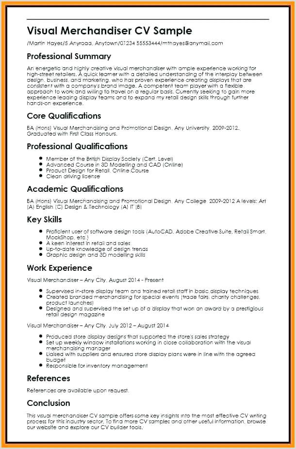 Merchandiser Job Description Resume Resume Visual Merchandiser – Wikirian