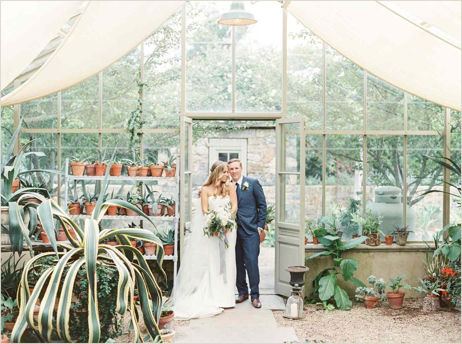 9 Lush Greenhouse Wedding Venues Around the World