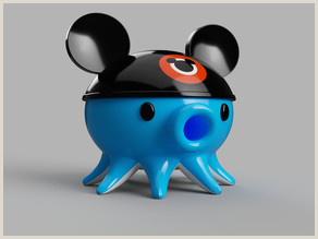 "Things tagged with ""Mickey mouse"" Thingiverse"