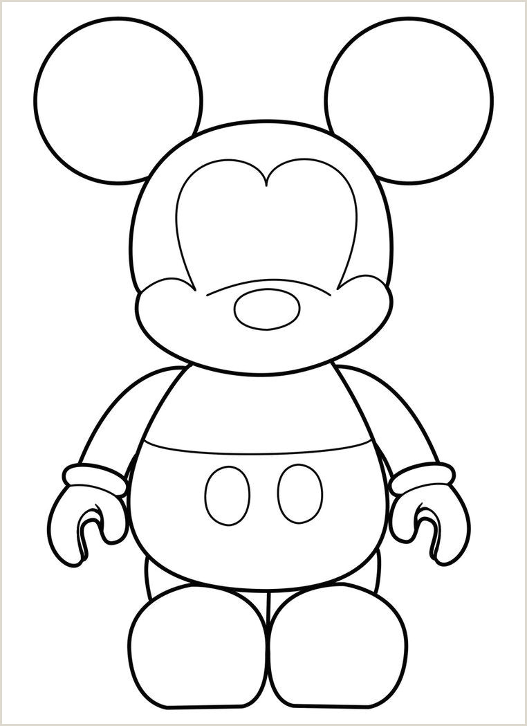Mickey Mouse Glove Template Mickey Vinylmation Template by Errantscarecrow On
