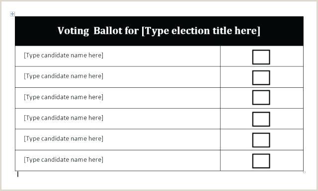 contest ballot template – edunova