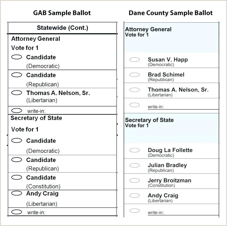 Free Ballot Template Search Results For Paper Union