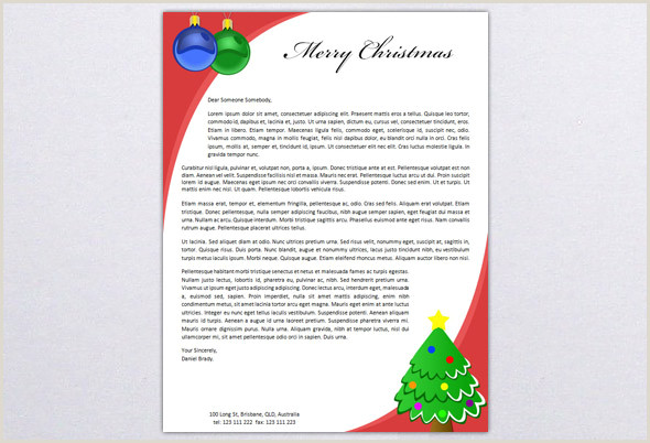 Christmas Newsletter Template Free Word