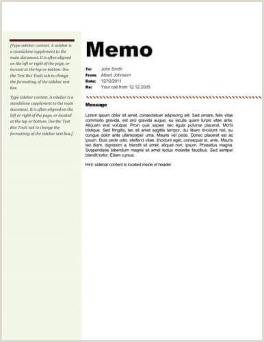 Template Memo Microsoft Word Understand The Background