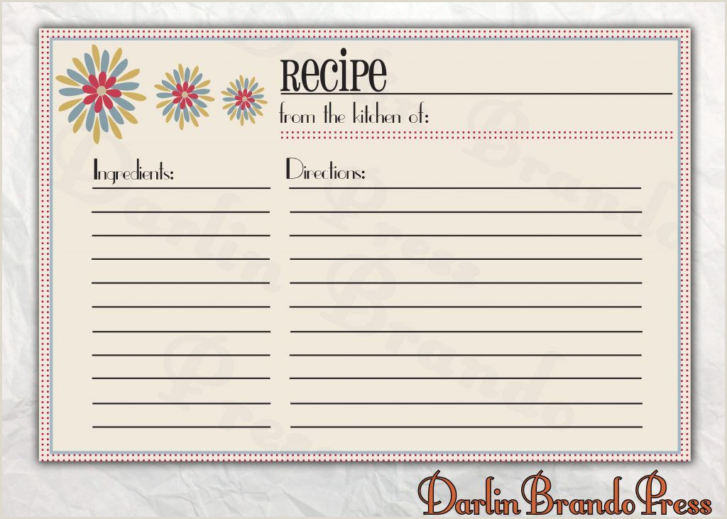 recipe cards template word Sofasdocsurvey