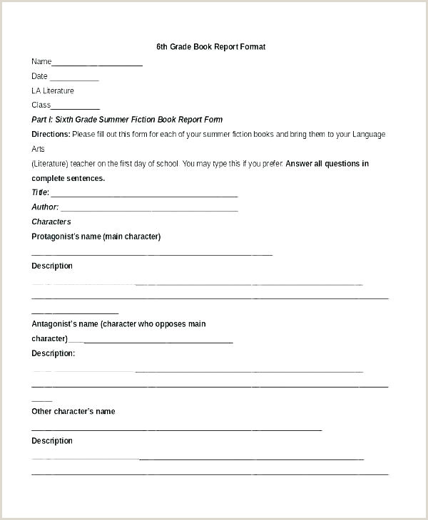 Ideas About Book Report Templates For High School