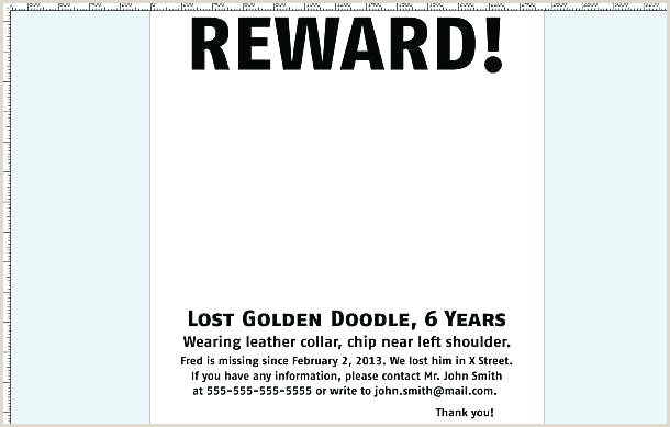 Missing Flyer Template Cat Poster Free