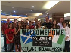 Missionary Welcome Home Banners Lds Missionary Banners & Signs