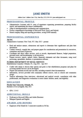 Expert Preferred Resume Templates Basic & Simple
