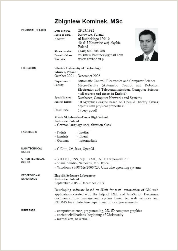 Template Under Template Europass Cv Template English Doc