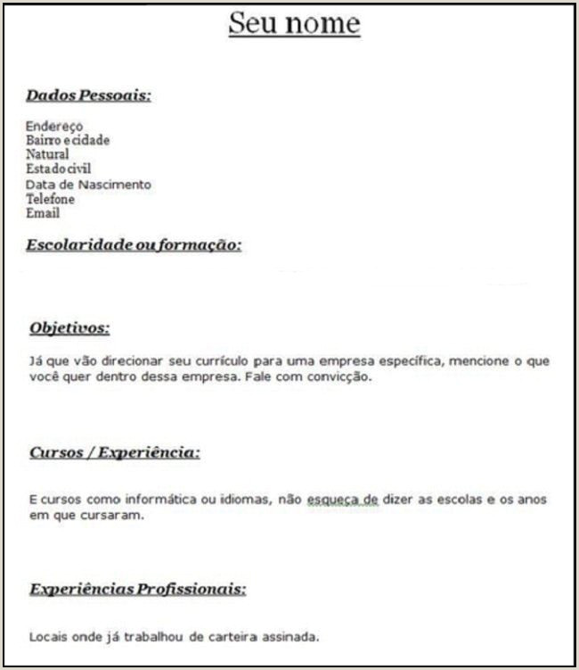 Modelos De Cv Professionnel Davidklinghoffer Document Ideas