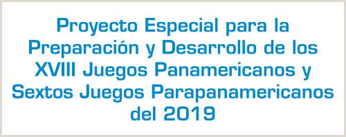 Juegos Panamericanos y Juegos Parapanamericanos 2019