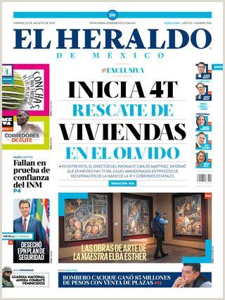 Viernes 23 de agosto de 2019 by El Heraldo de México issuu