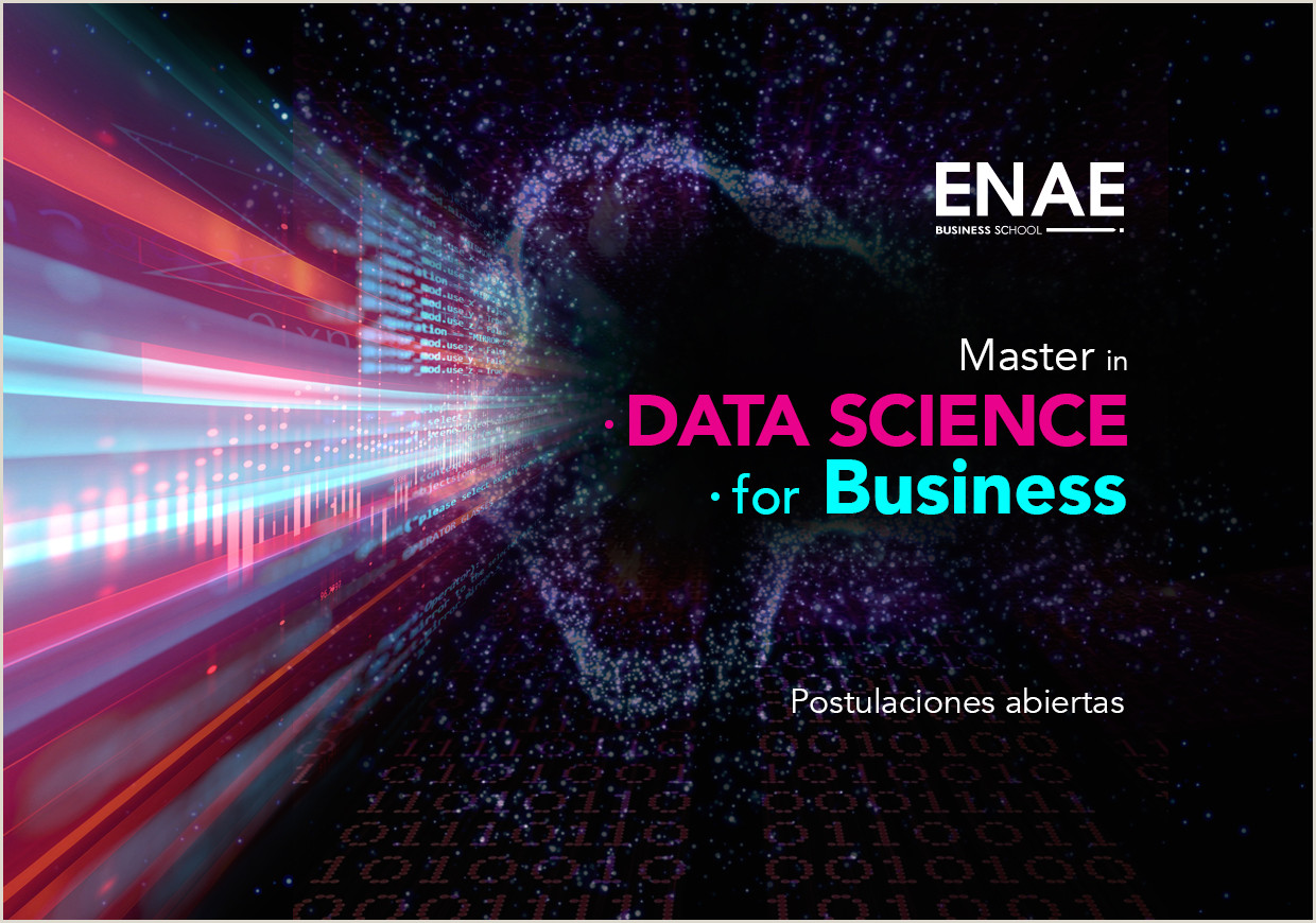 Master in Data Science for Business