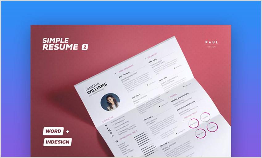 20 Mejores Plantillas Curriculum Vitae para Trabajo Con