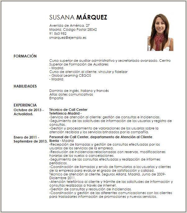 Curriculum Vitae Simple Para pletar E Imprimir Modelo CV