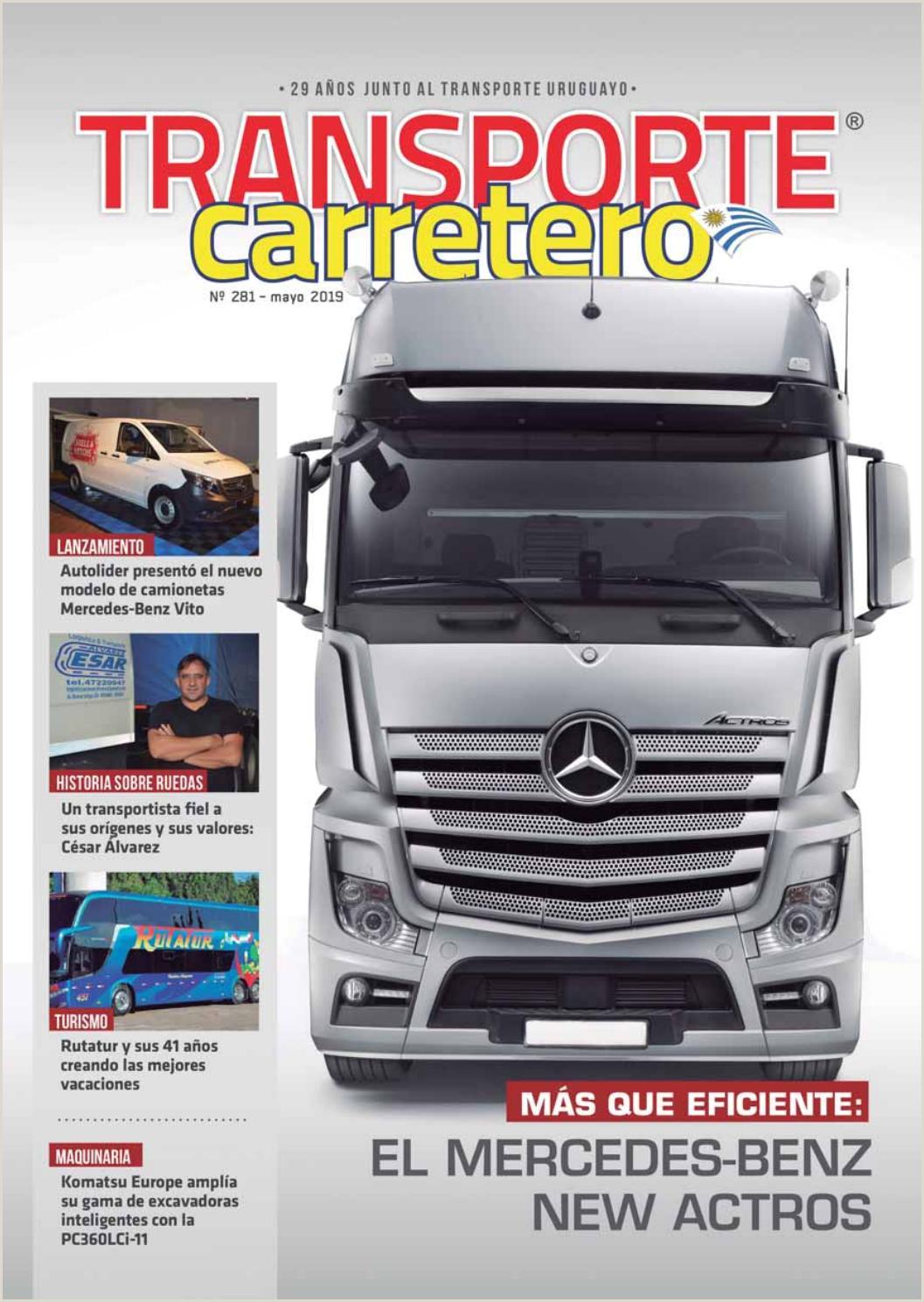 Transporte Carretero Nº 281 Mayo 2019 by Dise±o Producciones