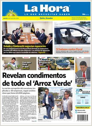 Quito 11 de julio de 2019 by Diario La Hora Ecuador issuu