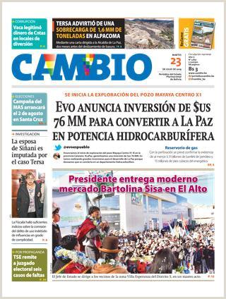 Edicion 23 07 19 by Cambio Peri³dico del Estado