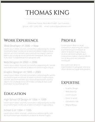 Modern Cv English Example 150 Free Resume Templates for Word [downloadable] Freesumes