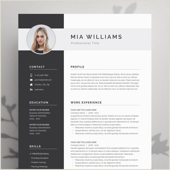 Modern Cv English Example Pin On Products