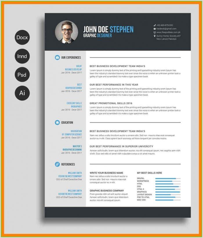Free Microsoft Word Resume Templates Modern Resume