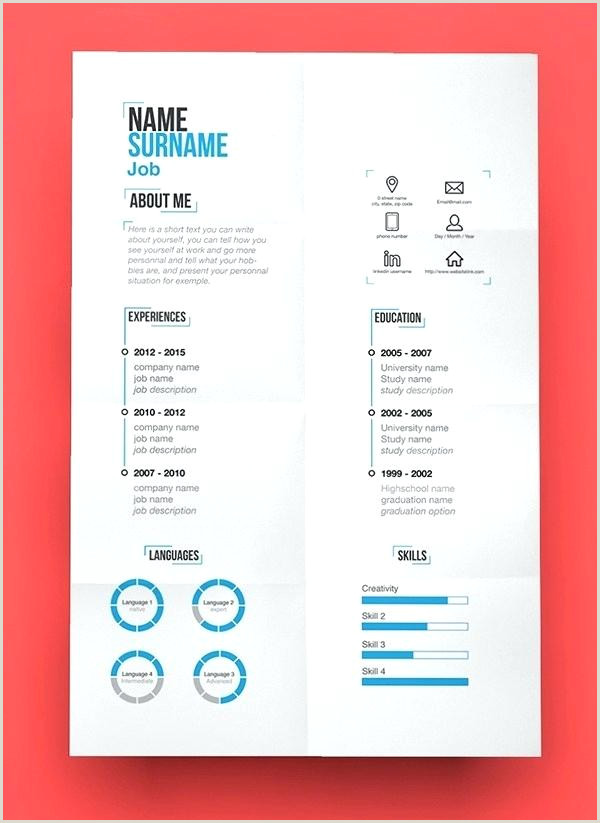 resume template modern professional