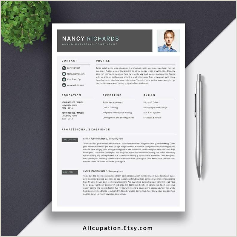 Modern Cv format for Job Etcy Modern Resume