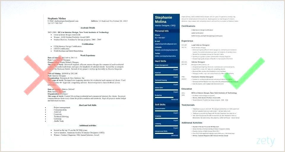 modern resume template word