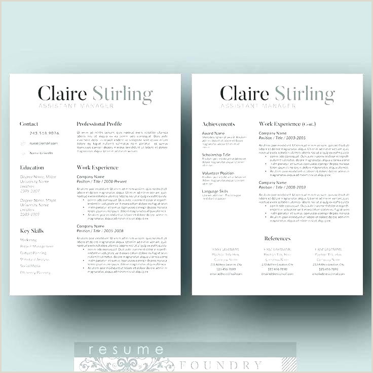 Modern Cv format Modern Resume Template Word Free Templates for Modern Cv