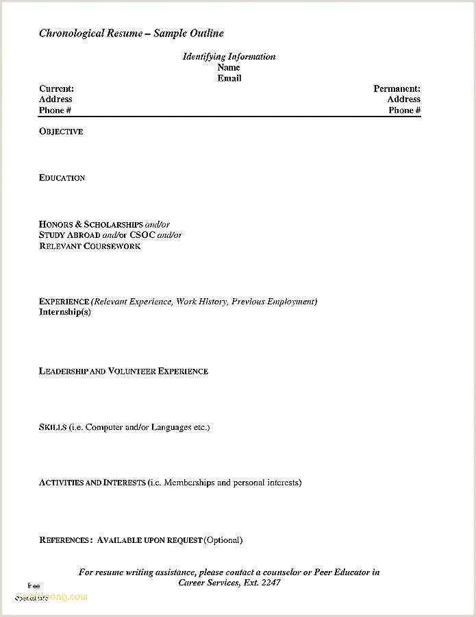 Skills Based Resume Template Sample Skill Inspirational