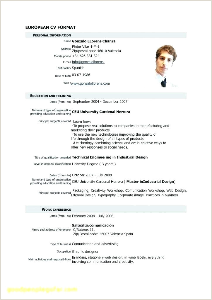 free cv template pdf