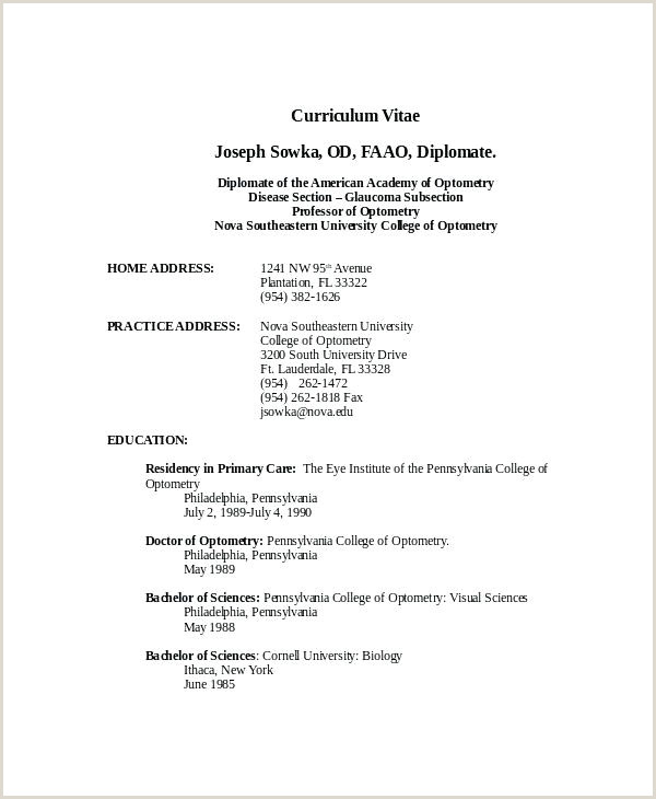 Modern Cv format Pdf Template Standard Resume Latest Free Resumes Samples Unique