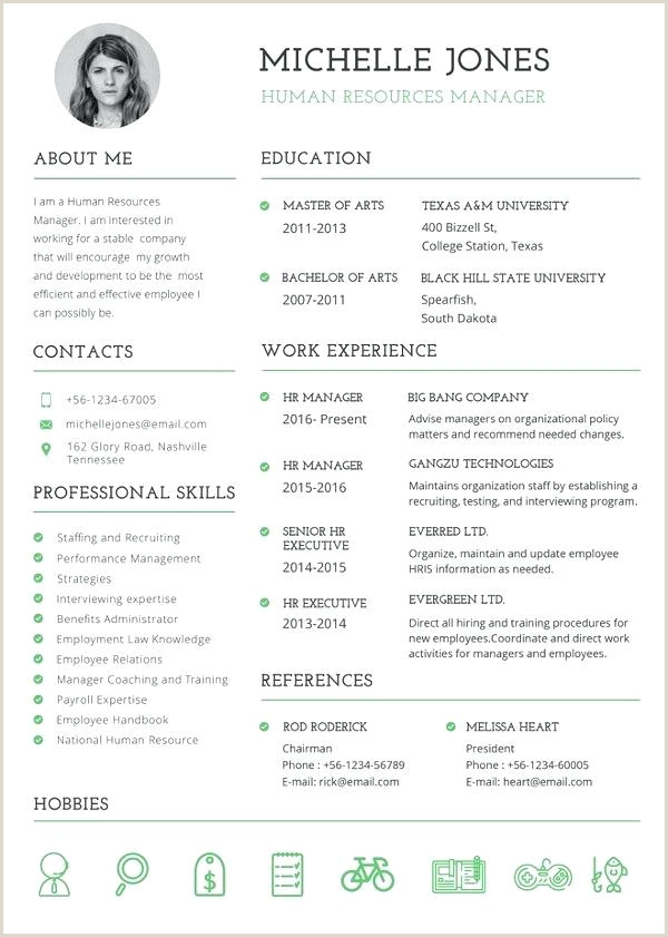 Professional Hr Resume Template In Ms Word Modern Cv Resume