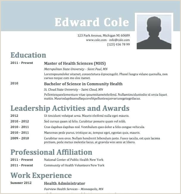 Modern Cv format Sample Word format Cv Template Word Download Modern Cv