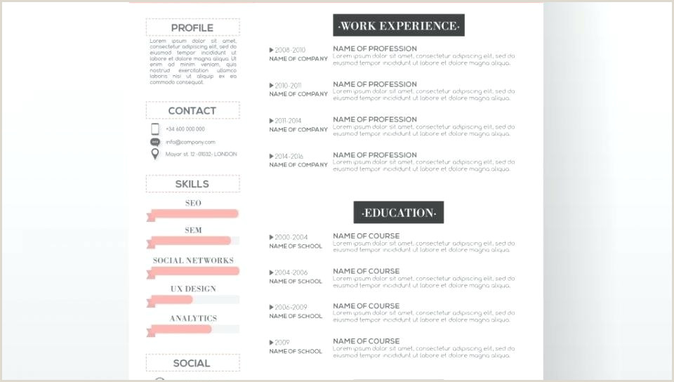 Modern Cv Template Free Resume Download For Freshers