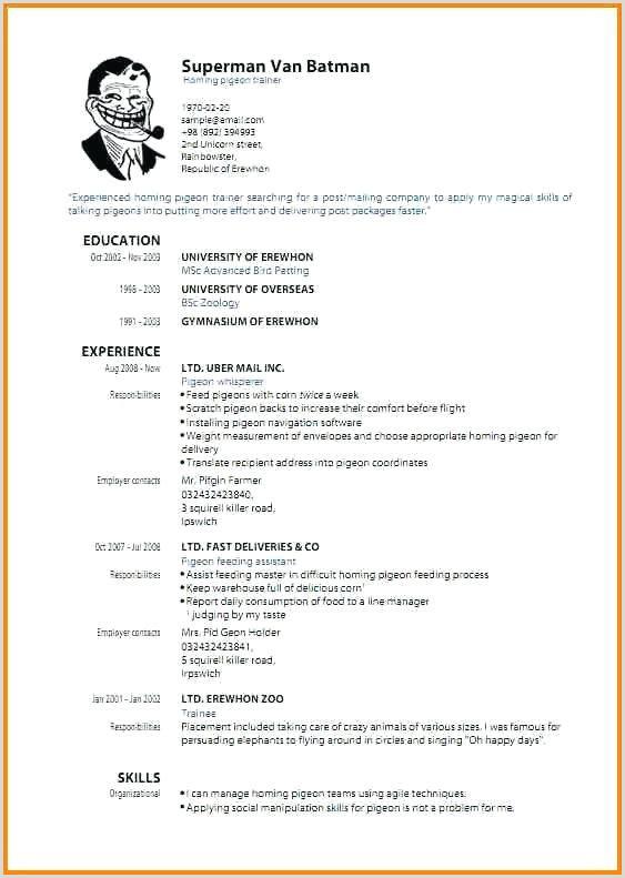 Cv Gratuit Moderne Le Luxe Free Modern Resume Templates for
